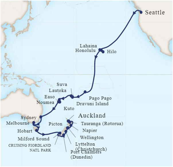 40-Day South Pacific