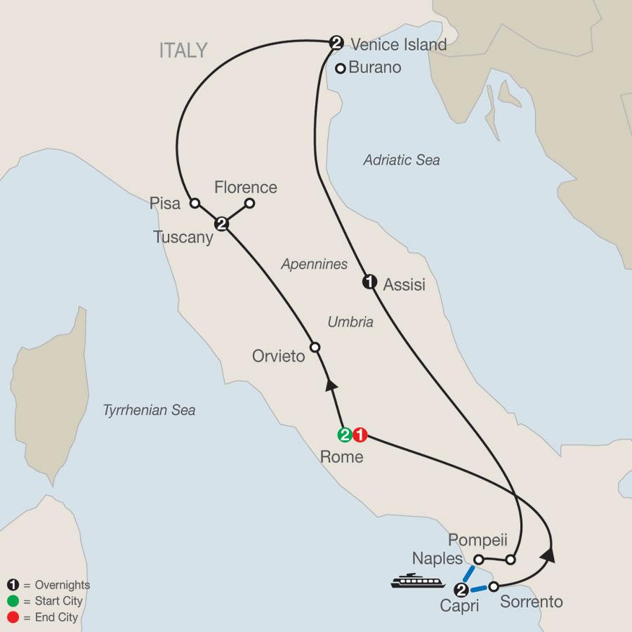 Globus Rome Italy