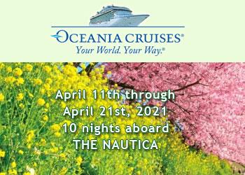 Oceania Cruises: Cruise Japan