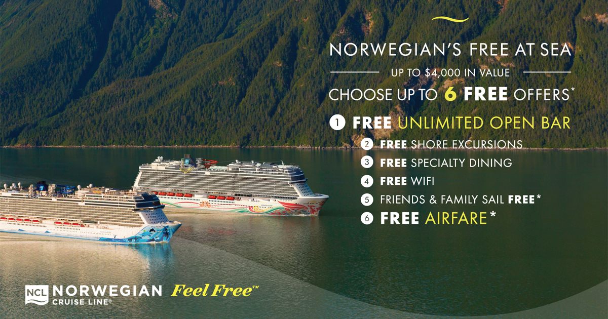 Norwegian Cruise Line: Free At Sea - Best Cruises & Tours