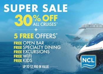 Norwegian Cruise Line: Super Sale