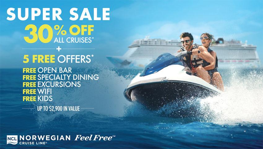 Norwegian Cruise Line: Super Sale 2021