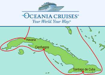 Oceania Cruises: Escorted Cruise to Cuba