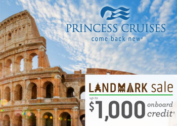 Princess Cruises: Landmark Sale