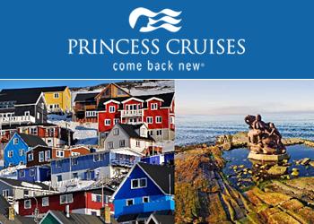 Princess Cruises: Round Trip New York to Greenland