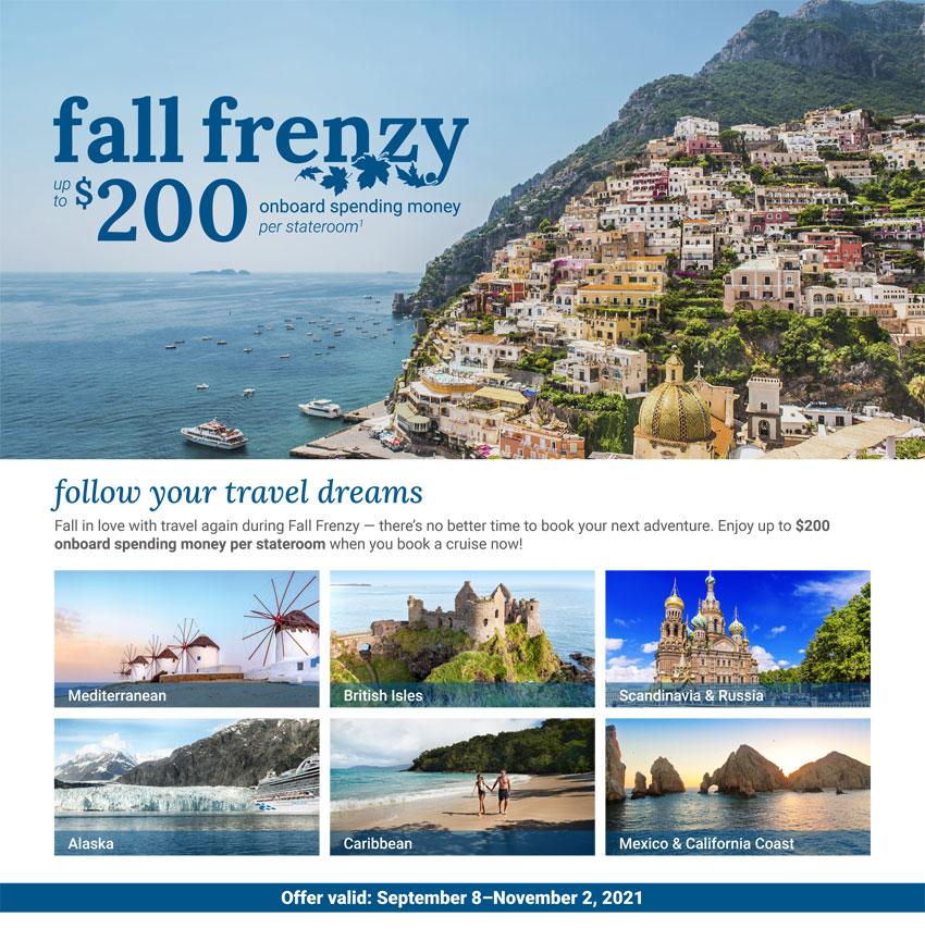 Princess Cruises: Fall Frenzy