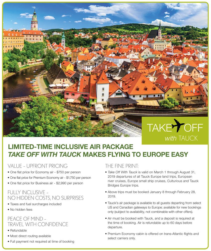Tauck Tours & Cruises: Take Off To Europe - Best Cruises & Tours